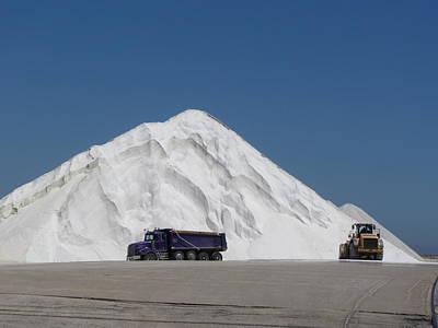 Photograph -  Jones Island Salt 2 by Anita Burgermeister