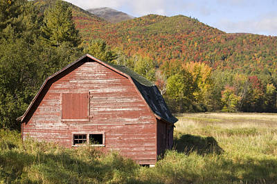 Photograph -  Keene Barn by David Seguin