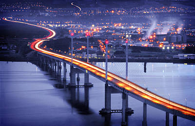 Photograph -  Kessock Bridge Inverness by Joe Macrae