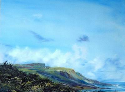 Kettleness Yorkshire  Art Print