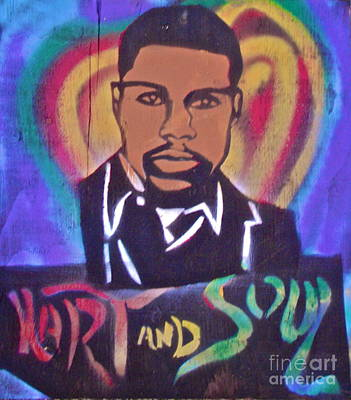 First Amendment Painting -  Kevin Hart And Soul by Tony B Conscious