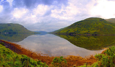Killary Harbour  Connemara Art Print by Michael Walsh