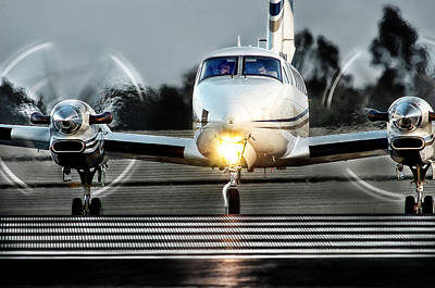 King Air  Art Print