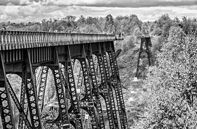 Kinzua Photograph -  Kinzua Bridge by Steve Harrington