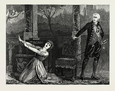 La Tosca At The Garrick Theatre Art Print by Litz Collection