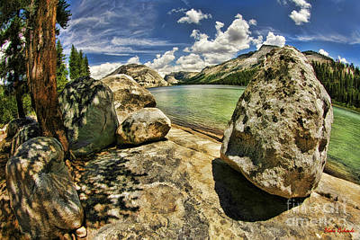 Photograph -  Lake Tenaya Bollder by Blake Richards