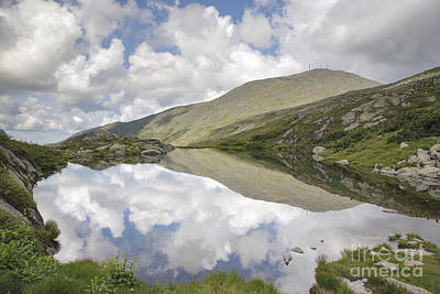 Line Photograph -  Lakes Of The Clouds - Mount Washington New Hampshire by Erin Paul Donovan