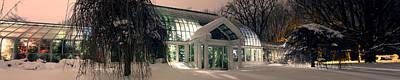 Lamberton Conservatory Art Print by Richard Engelbrecht