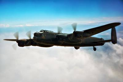 Canadian Heritage Photograph -  Lancaster Bomber by Jason Green
