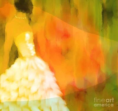 Last Dance Art Print by Hilda Lechuga