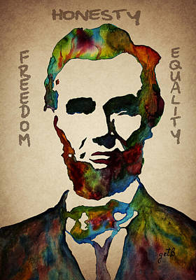 Politicians Royalty-Free and Rights-Managed Images -  Leader Qualities Abraham Lincoln by Georgeta Blanaru