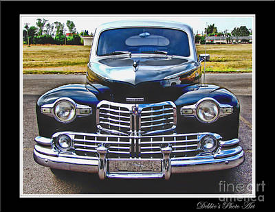 Photograph -  Lincoln Zephyr I by Debbie Portwood