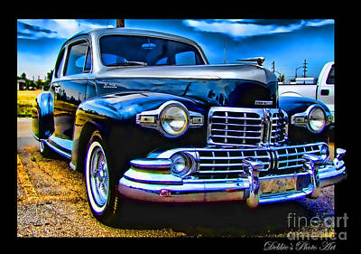 Photograph -  Lincoln Zephyr II by Debbie Portwood
