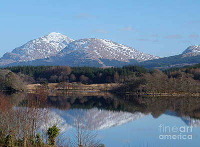 Photograph -  Loch Awe - Reflections by Phil Banks