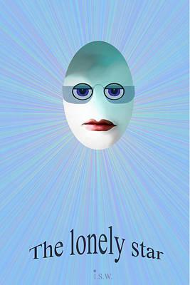 Lonely Star - 963 Art Print