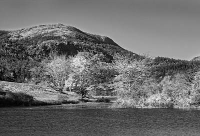 Photograph -  Long Pond Acadia National Park Mount Desert Island Maine by Keith Webber Jr