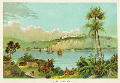 Luanda (sao Paolo De Loanda)  General Art Print by Mary Evans Picture Library