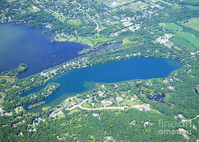 Photograph -  M-042 Moose Lake Waukesha Co. Wisconsin by Bill Lang