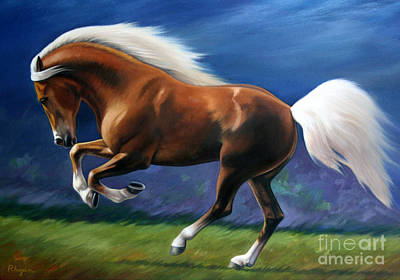 Painting -  Magnificent Power And Motion by Vivien Rhyan