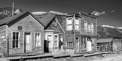 Photograph -  Main Street St Elmo Colorado by Harold Rau