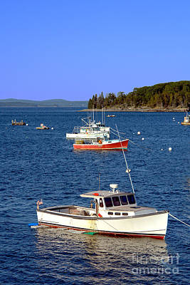 Photograph - Maine Lobster Boat by Olivier Le Queinec