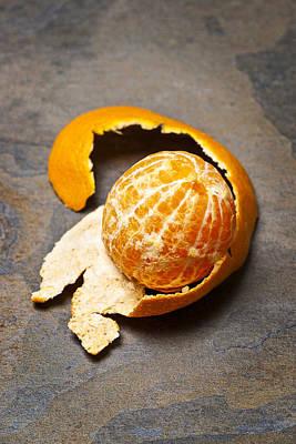 Mandarin Orange Print by Donald  Erickson