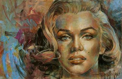 Marilyn Monroe Painting -  Marilyn by Arthur Braginsky