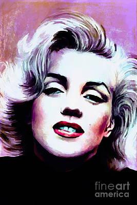 Lips Digital Art -   Marilyn Monroe 3 by Andrzej Szczerski