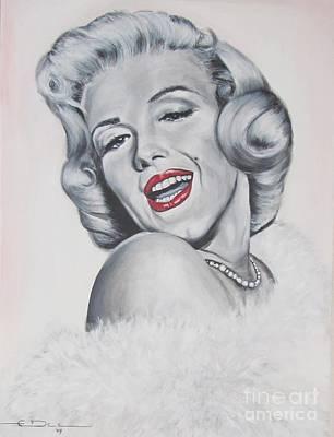 Marilyn Monroe Art Print by Eric Dee