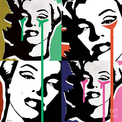 Gay Digital Art -  Marilyn Monroe by Mark Ashkenazi