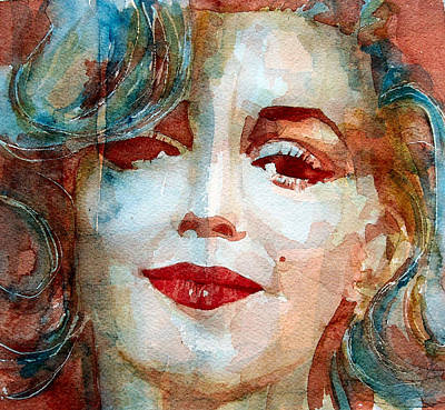 Marilyn   Art Print by Paul Lovering