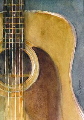 Martin Guitar D-28  Original by Dorrie Rifkin