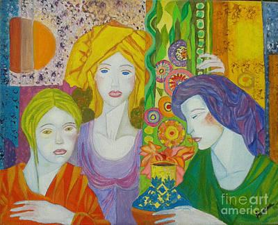 Meditation Inspiration Art Print by Bozena Simeth
