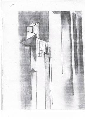 Metro Scape Art Print