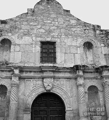 Photograph -  Mission San Antonio De Valero San Antonio Texas 1 by Jennifer E Doll