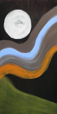 Painting -  Moonshadow by Sue McElligott