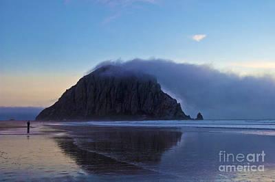 Morro Rock At Morro Bay 2 Original by Micah May