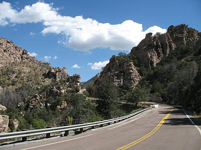 Coronado National Forest Photograph -  Mount Lemmon Road by Christiane Schulze Art And Photography