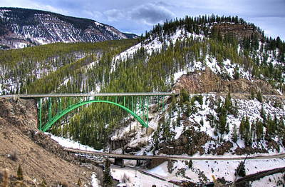 Photograph -  Mountain Bridge by Jack Dean
