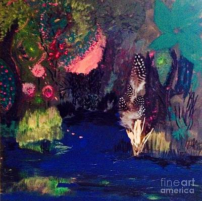 Painting -  My Pond by Vanessa Palomino