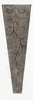 , Needlework, 19th Century Embroidery Art Print