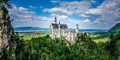 Photograph -  Neuschwanstein Fairytale by TK Goforth