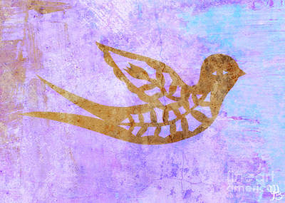 Painting -  New Free Bird by Mindy Bench