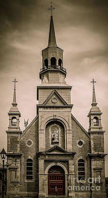 Photograph -  Notre-dame-de-bon-secours Chapel  by Bianca Nadeau