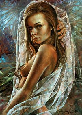 Wall Art - Painting -  Nude Woman by Arthur Braginsky