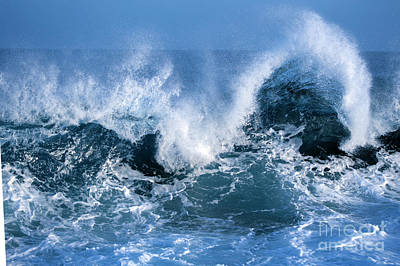 Ocean Wave Art Print by Boon Mee