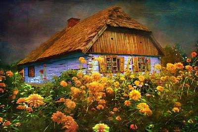 Old House... Art Print by Andrzej Szczerski