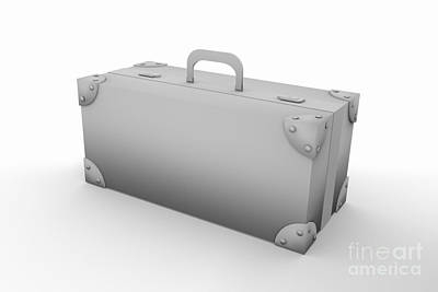 Digital Art -  Old Suitcase by Igor Kislev
