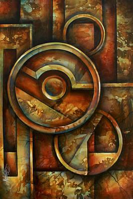 ' Omega Block' Original by Michael Lang