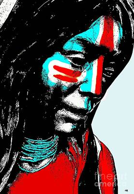 One Nation Art Print by Everette McMahan jr